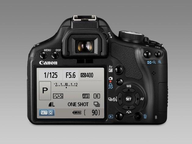Canon pantalla