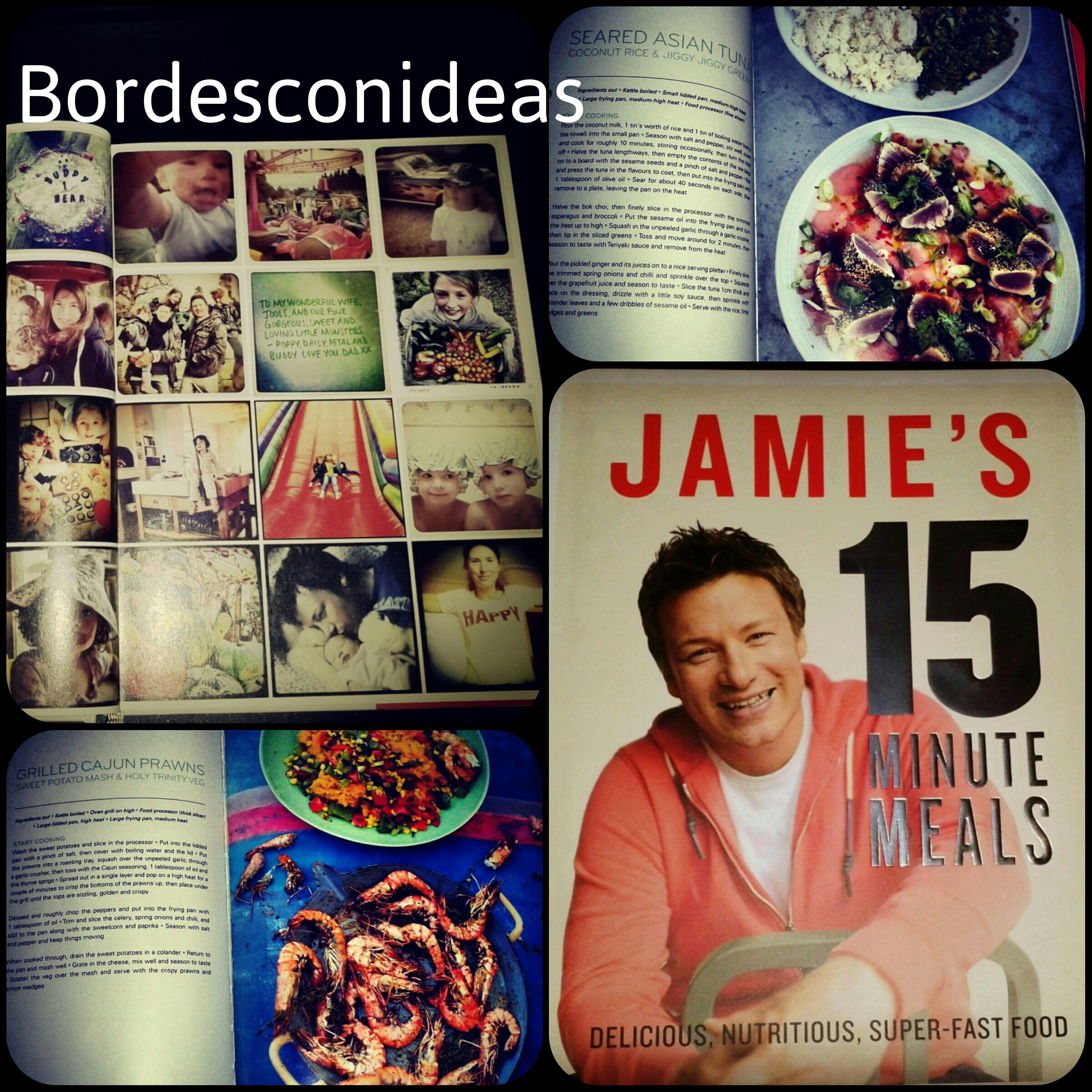 Libros bordes con ideas for Cocinando 15 minutos con jamie